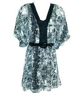 Badgley Mischka Beaded Tunic/Dress